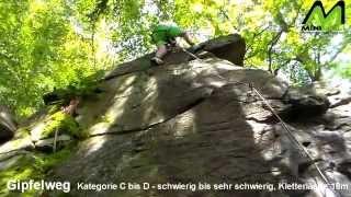 preview picture of video 'Wolkensteiner Schweiz Gipfelweg'
