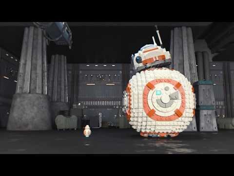 Vidéo LEGO Star Wars 75187 : BB-8