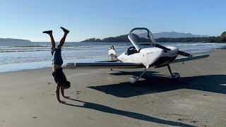 Landing on the Beach of a Secluded Island | Vlog