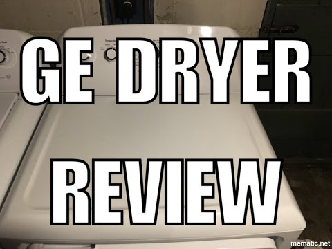 New GE Dryer Product Review Model GTD42EASJWW