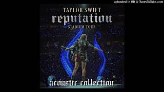 Taylor Swift - Out of the Woods (reputation Stadium Tour Acoustic)