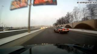 Зимний дрифт. Evil winter drift in Russia