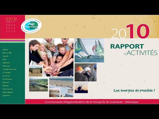 Rapport annuel sur le prix et la qualité de l'eau et de l'assainissement 2010