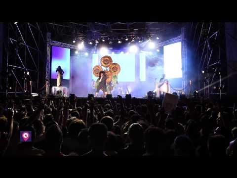Caparezza in concerto a Reggio Calabria in Piazza Castello