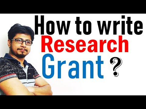 How to write a research grant proposal step by step
