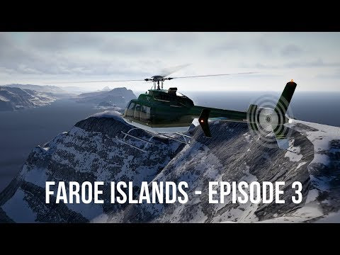 X Plane 11 - Faroe Islands Helicopter Tour - Episode 3