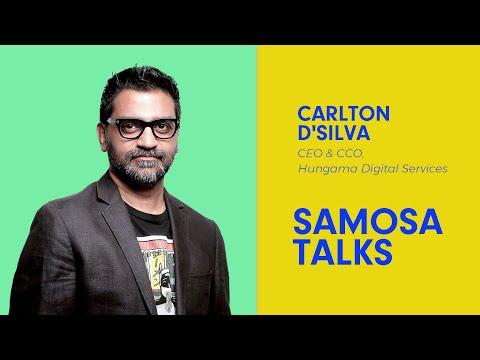 #SamosaTalks with Carlton D'Silva, CEO and CCO, Hungama Digital Services