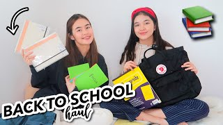 BACK TO SCHOOL SUPPLIES HAUL + ONLINE CLASSES!!  | Princess And Nicole