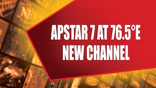 APSTAR 7 AT 76.0°E  NEW CHANNEL      4/5/2021