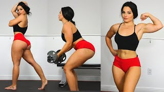 HOT Fitness Models Intense Home Gym Workout! Part 2