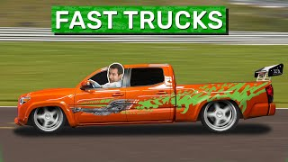 Here Are the 10 Coolest Fast Trucks Ever Made