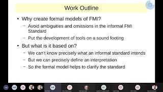 Formel Models of the FMI Standard