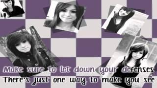 Christina Grimmie - Advice [Karaoke/Instrumental] With Lyrics