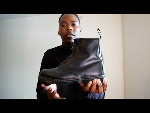 Doc Martens 1460 Mono Boot: Review + On foot & Sizing
