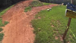 A complete lap around the entire bike park course.