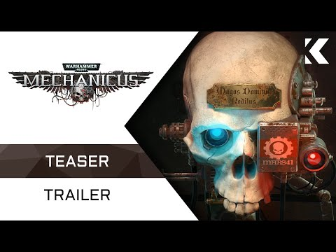 Warhammer 40,000: Mechanicus | Teaser Trailer thumbnail