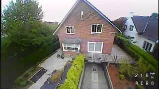 Hardcore Tinywhoop FPV Freestyle in my Frontyard