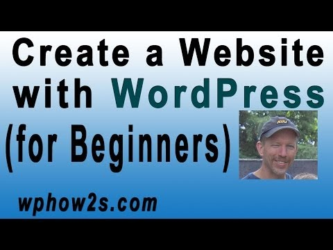How to Create a Website with WordPress – Step-by-Step Video Tutorial