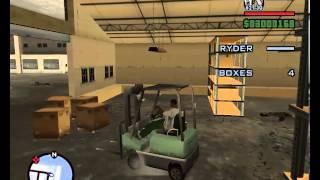 GTA San Andreas - Robbing Uncle Sam - (Easy Way)