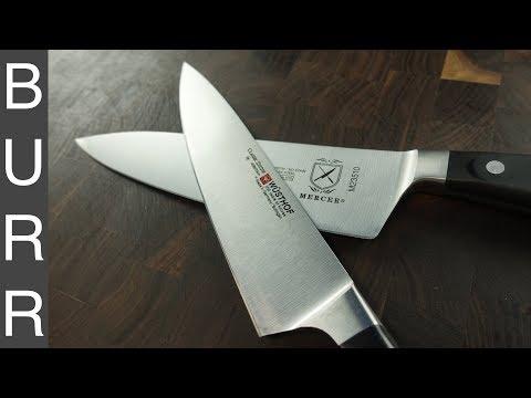 $40 Mercer Renaissance vs $160 Wusthof Ikon Knife