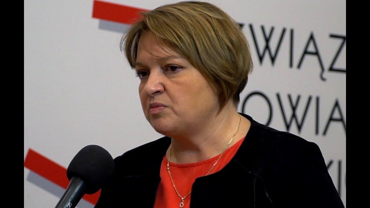 Wywiad TV z Dorotą Gołąb-Bełtowicz na temat finansów szpitali powiatowych