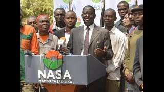 Raila Odinga meets Maasai community leaders