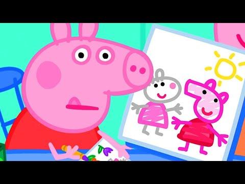 Peppa Pig in Hindi - School Play - School ka Natak - हिंदी Kahaniya - Hindi Cartoons for Kids