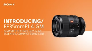 YouTube Video 9gLsfw3q_v8 for Product Sony FE 35mm F1.4 GM Lens by Company Sony Electronics in Industry Lenses