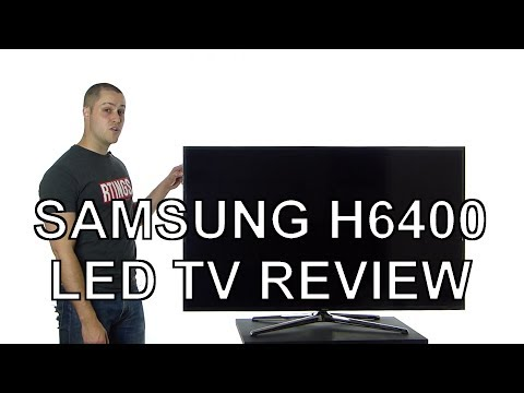 Samsung H6400 LED TV Review