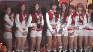 [Fancam] 100203 SNSD - All About SNSD@19th Seoul Music Award [Part 6 Of 11]