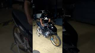 Warming up mp3 engine racetech performace indonesia