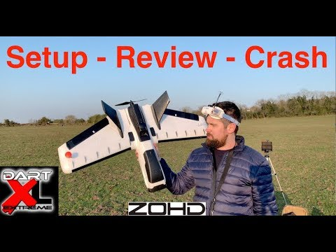 fpv-zohd-dart-xl--setup--review--crash