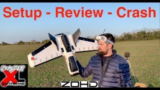 FPV ZOHD Dart XL - Setup - Review - Crash