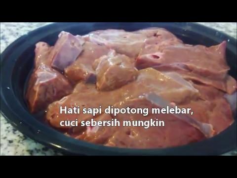 Video Resep Hati Sapi Goreng Enak dan Praktis