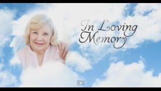Memorial Templates - by Memory Magic