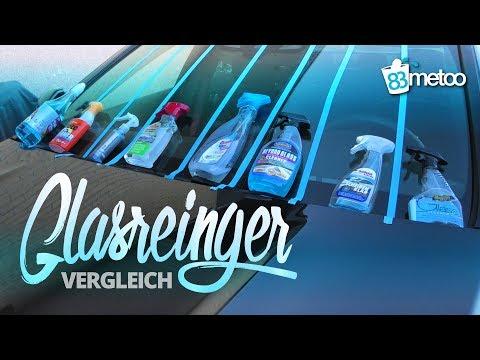 Glasreiniger Test Vergleich | Der beste Glasreiniger | Autoscheiben streifenfrei reinigen | 83metoo