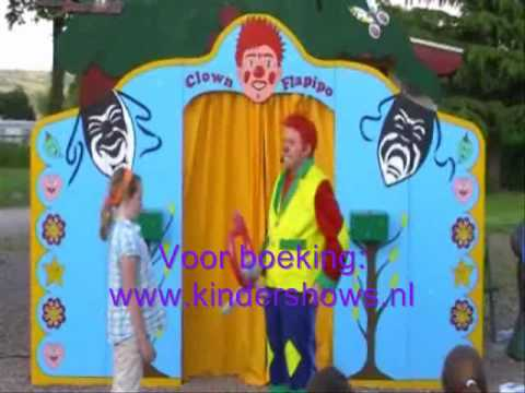 Video van Clown Flapipo Kindershow | Clownshow.nl