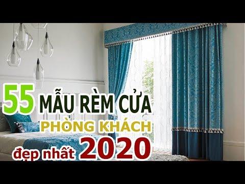 55 Mẫu Rèm Cửa Đẹp Cho Phòng Khách 2020