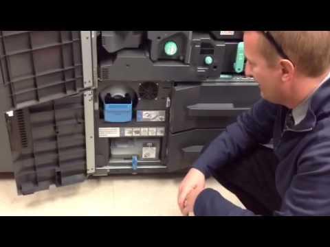 bizhub PRO Training at Tinicum 1/7/14 - Part 1 Hardware