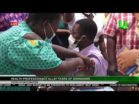 Health Professionals Allay Fears Of Ghanaians
