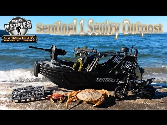 True Heroes Sentinel 1 Sentry Outpost Boat | Beach Toy Review