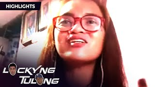 Jane sings for Luis and Negi | Lucky'Ng Tulong