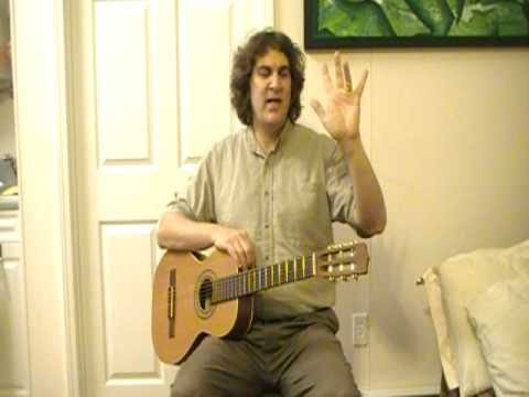 Beginning Guitar Lessons - The names of the left hand fingers