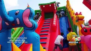 Nhà hơi nhà phao trẻ em Nguyện Như  (08)3767.3727 Sản xuất đồ chơi bơm hơi