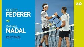 Roger Federer vs Rafael Nadal Australian Open 2017 Final | AO Classics
