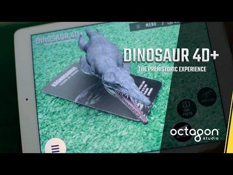 Vidéo Dinosaur 4D+