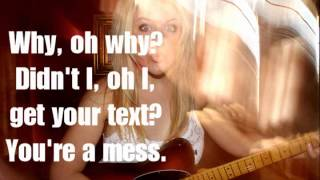 Mass Text - Tay Allyn (Instrumental/Karaoke + Lyrics)