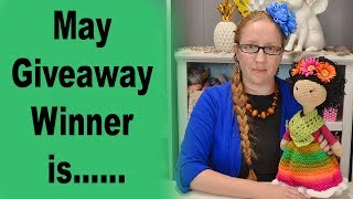 May Giveaway Winner Announcment