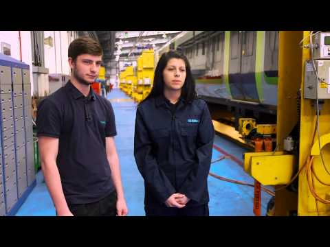 Siemens UK Apprenticeships – Train Maintenance