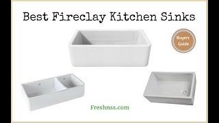✅Fireclay Kitchen Sinks: Reviews Of The 12 Best Fireclay Kitchen Sinks, Plus 1 To Avoid ❎